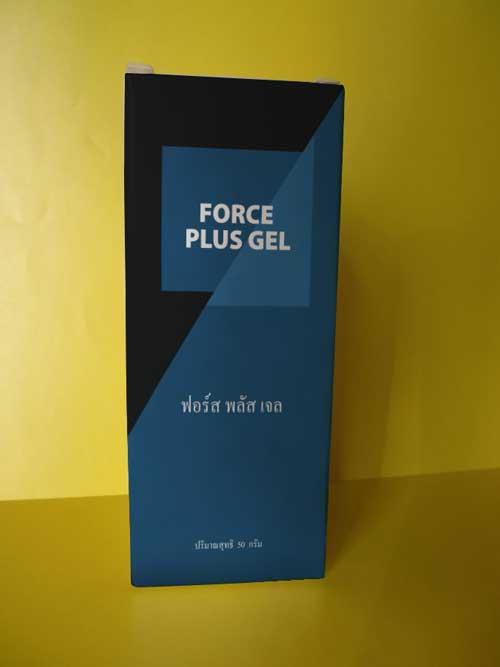 จในเรื่องขนาดของตัวเองมากกว่า จนได้ทดลองใช้ Force plus gel ครั้งแรก โดยที่ไม่เคยใช้ผลิตภัณฑ์ใดใดมาก่อนหน้านี้เลย ข
