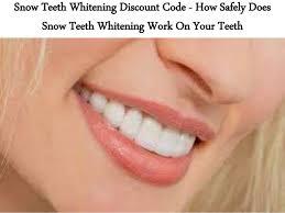 Snowhite Teeth Whitening – ผลข้างเคียง – ราคา – ข้อห้าม